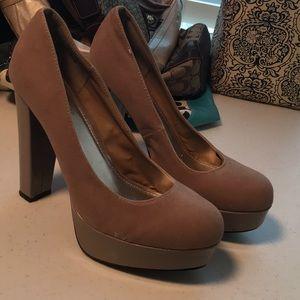 Bamboo Nude heels